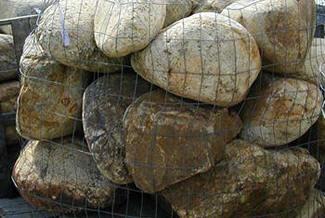 tumbled stone rockscape landscape boulders orlando miami