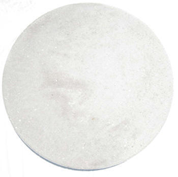 Smooth Top Round White Tampa 2 Round Concrete Stepping Stone Vero Beach