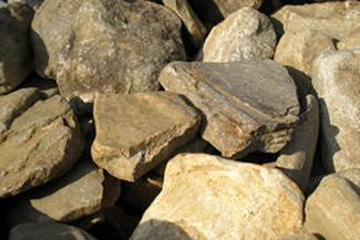 Tumbled stone rockscape landscape boulders orlando for Landscaping rocks daytona beach